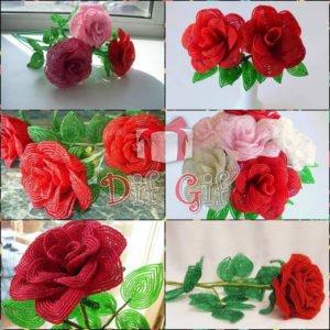 Վարդեր — Ձեռքի աշխատանք