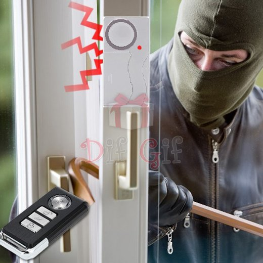 Դռան անլար անվտանգության համակարգ